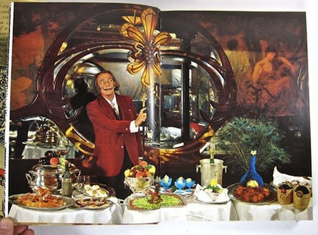 Dali's cookbook