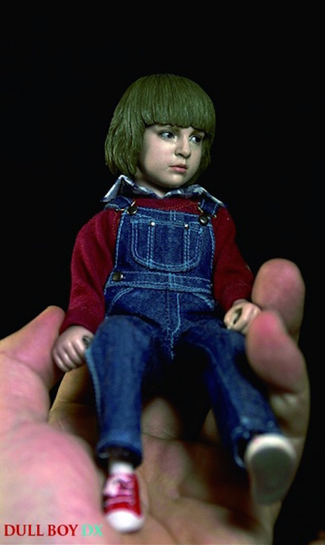 Danny Torrance (for scale) figure by Rainman
