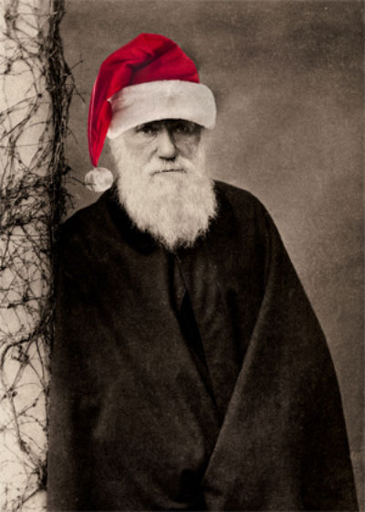 Survival of the Festive: Charles Darwin Christmas cards