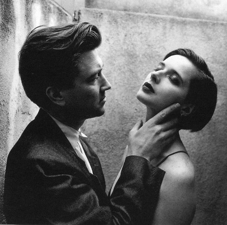 David Lynch and Isabella Rossellini