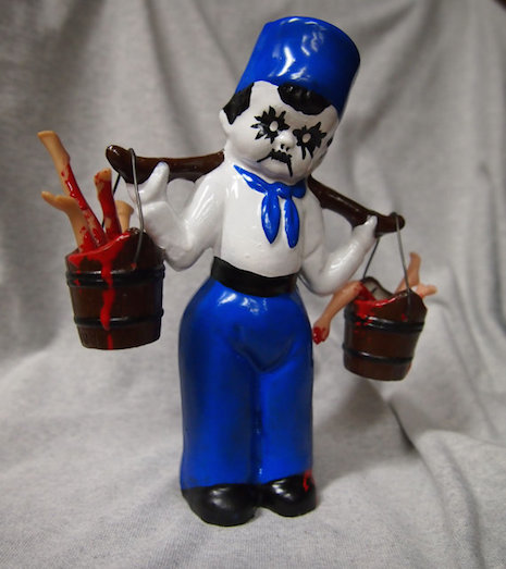 Ghoulish Dutch boy by Coffin Collector