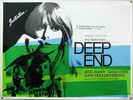 Can's 'Mother Sky' as it was used in the 1970 British cult classic 'Deep End'