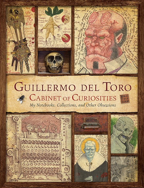 Guillermo del Toro's incredible 'Cabinet of Curiosities' sketchbooks to be published
