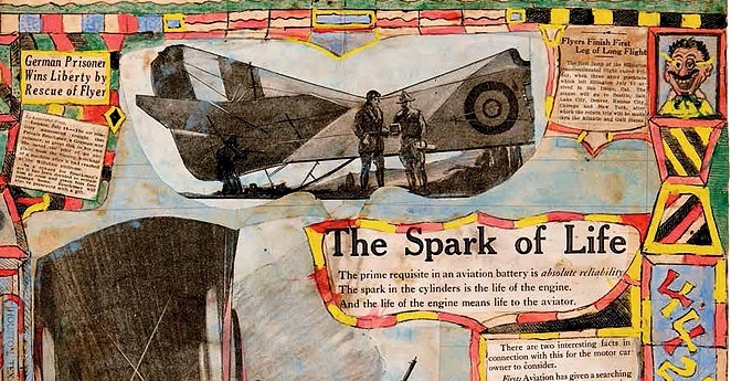 The spectacular steampunk aircrafts of Charles A. A. Dellschau