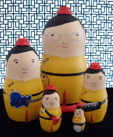 Devo Russian nesting dolls