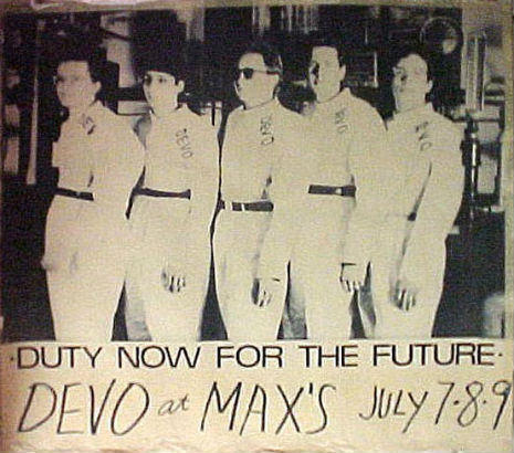 Live and insane: Video of Devo at Max's Kansas City in July of 1977