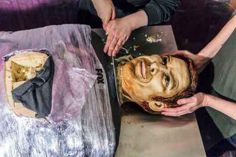 Deliciously demented life-size 'Dexter' cake