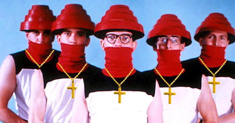 Dove, the Band of Love: DEVO's Christian alter-ego