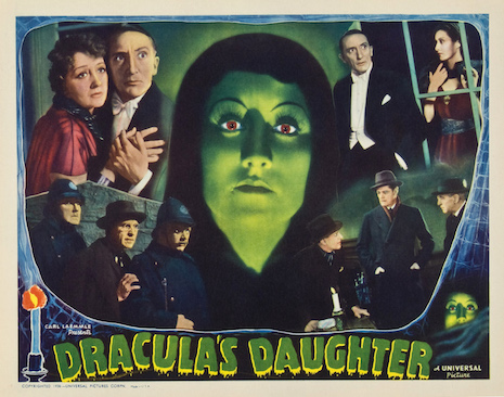 Dracula's Daughter vintage lobby card, 1936