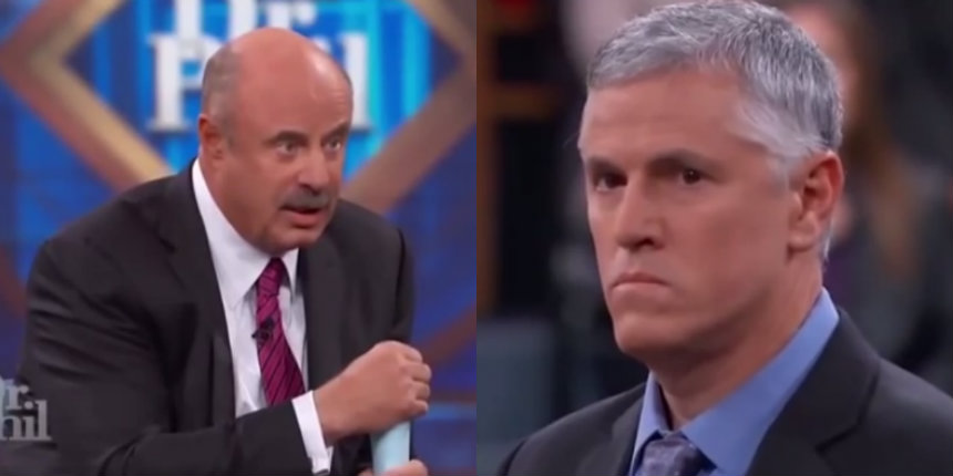 'Dr. Phil' show without the dialogue is just an awkward staring contest
