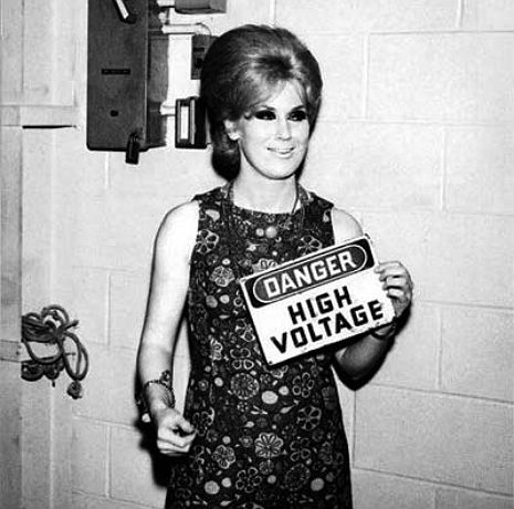 Dusty Springfield bravely comes out as bisexual in 'The Evening Standard,' 1970
