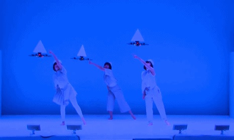 Dance routine with drones is beautiful and technically impressive