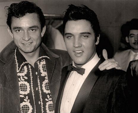 Johnny Cash does his Elvis impression