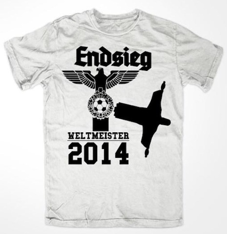 Nazi World Cup shirt