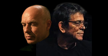 Lou Reed and Brian Eno, together at last: it's 'Metal Machine Music For Airports'