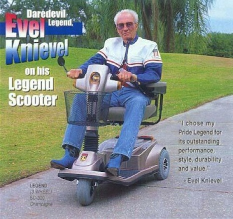 Evel Knievel Legend Scooter