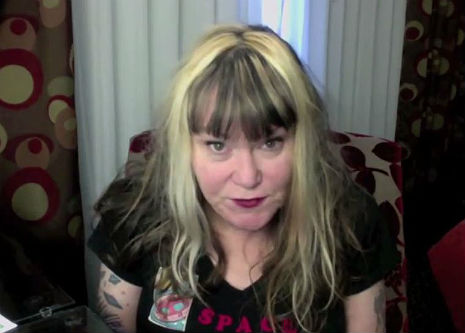 X marks the Conspiracy Theory: Exene Cervenka, the new Alex Jones?