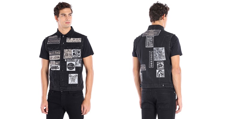 Douchebag denim company sells $298 jacket and $348 jeans with fake heavy metal patches on them