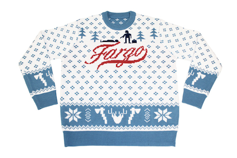 Fargo Christmas sweater by Mondo