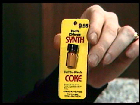 Got a hot date? Pick up some Synth Coke!