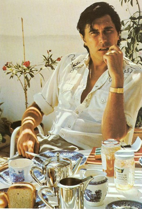 Bryan Ferry has something he wants to sell you: Japanese commercials from the '80s