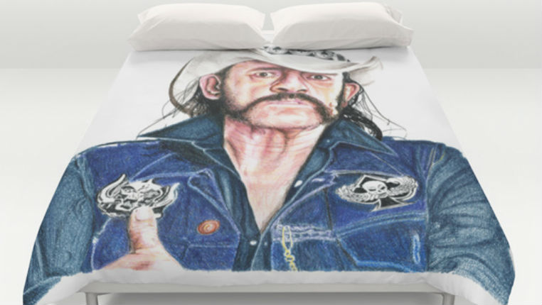 Decorate your ENTIRE home with Lemmy Kilmister housewares
