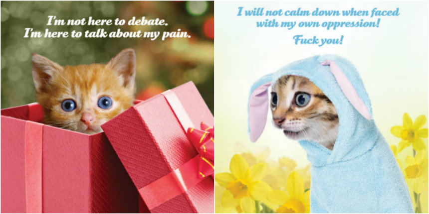 'Silence is violence': Social Justice Kittens 2018 calendar is here!