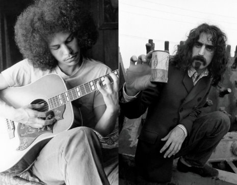 Frank Zappa and Shuggie Otis: Shimmering, gorgeous 9-minute acoustic jam, 1970