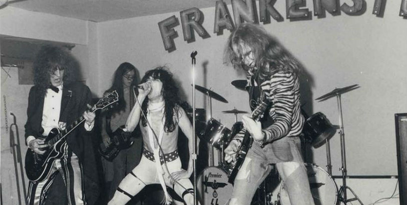 Before The Dead Boys were the Dead Boys, they were the oh so glamorous 'Frankenstein'