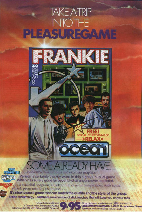 Frankie Goes to Hollywood video game
