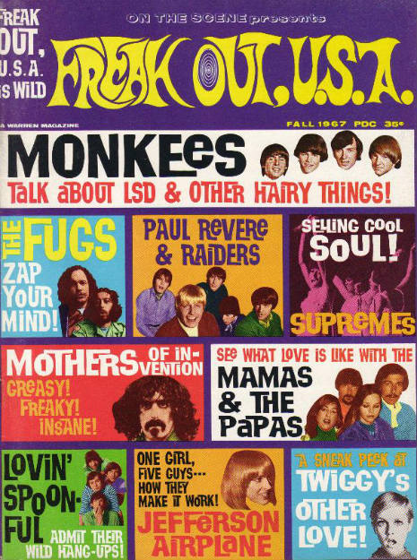 Freak Out U.S.A.: A rock magazine that turned up the colors