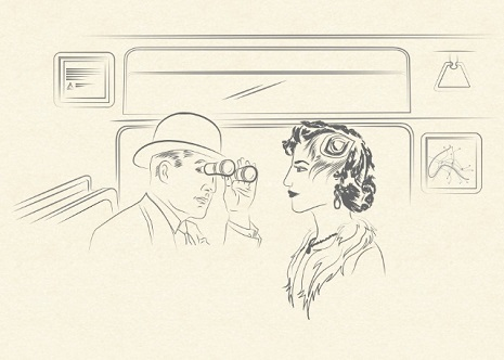 Parisian subway etiquette guide is a French New Wave period piece