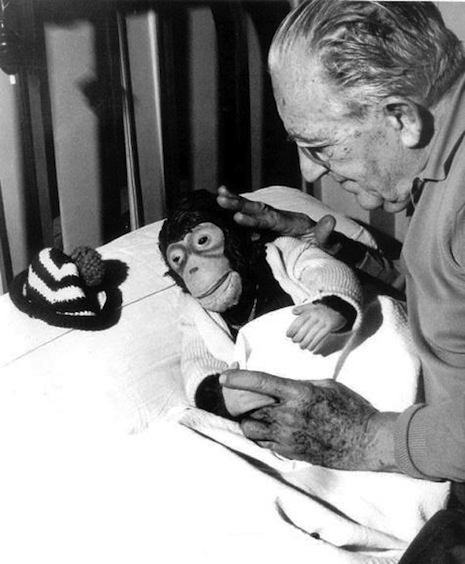 Fritz Lang and friend
