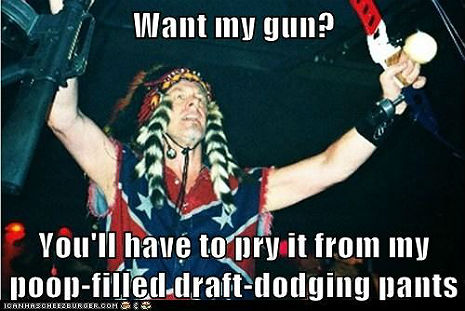 Wang Dang Sweet Talibang: Sign Petition to Draft Ted Nugent and send his dumb ass to Afghanistan!