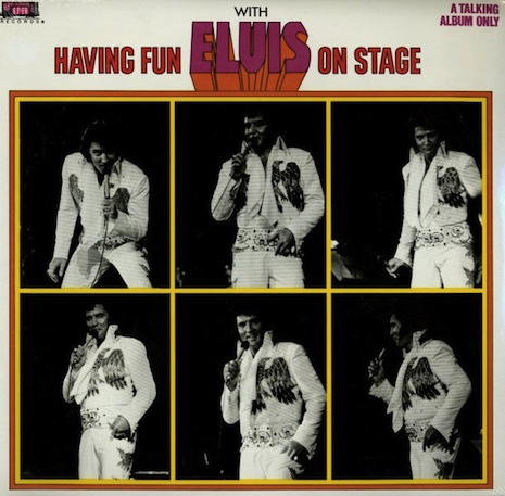 Having Fun with Elvis on Stage