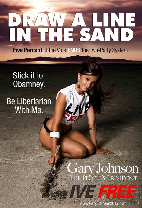 Gary Johnson Poster