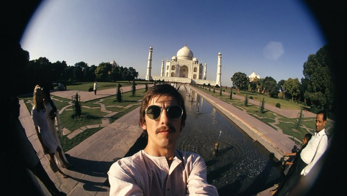 George Harrison's 1966 selfies from India
