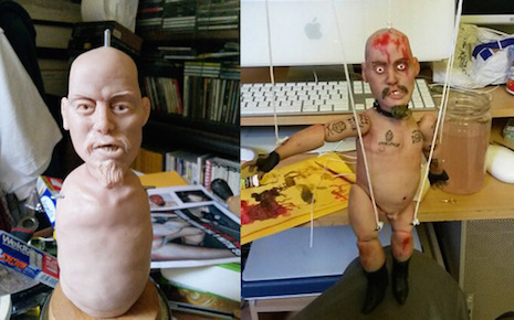 The GG Allin marionette LIVES