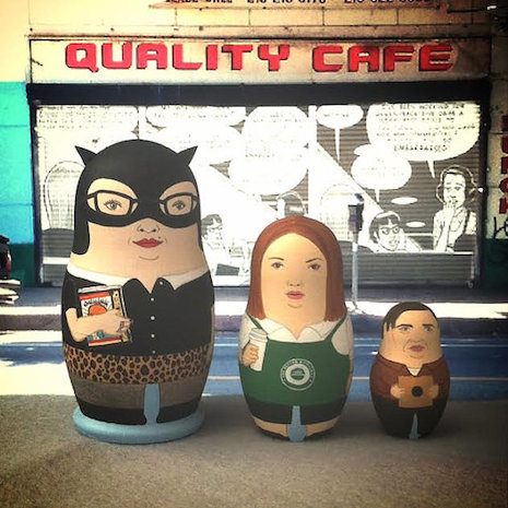 Ghost World Russian nesting dolls