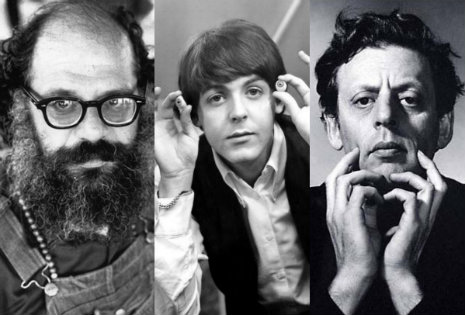 'The Ballad of the Skeletons': Allen Ginsberg, Paul McCartney & Philip Glass, together