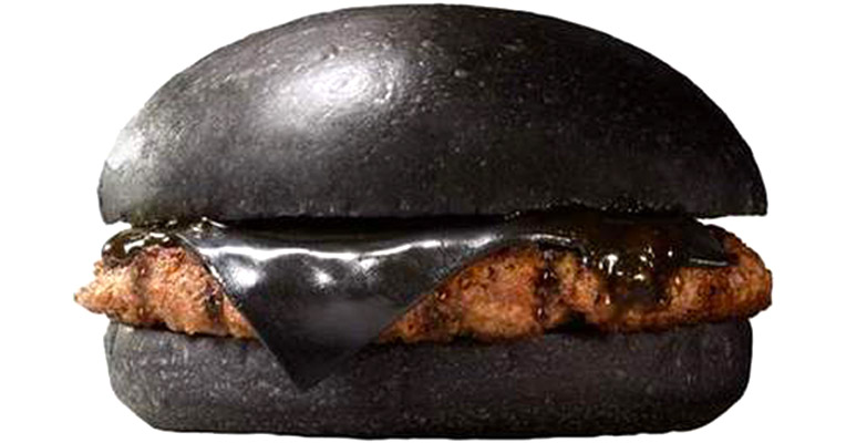Burger King goes 'goth' in Japan with their 'Black Burger' (and black cheese)