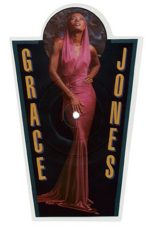 Grace Jones Party Girl shaped 7