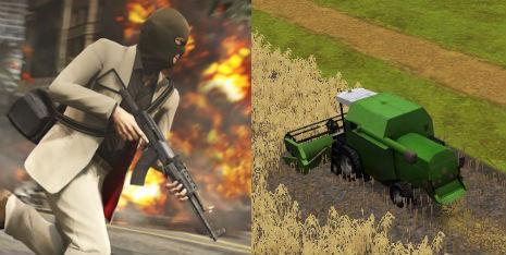 Grand Theft Auto Farming