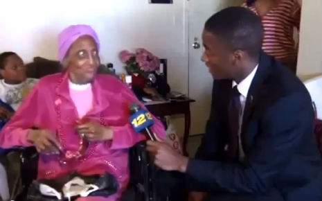 100-year-old woman wants 100 dicks for her 100th birthday