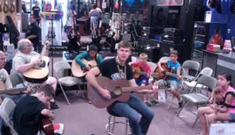 EVERYONE at Guitar Center, 'Live at Guitar Center'