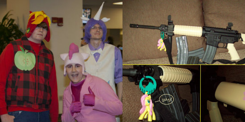 The bronies are building an army: Check out this collection of My Little Pony-themed guns