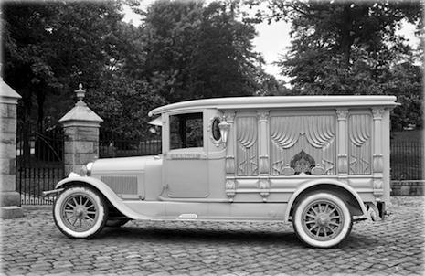 Lincoln hearse, 1924