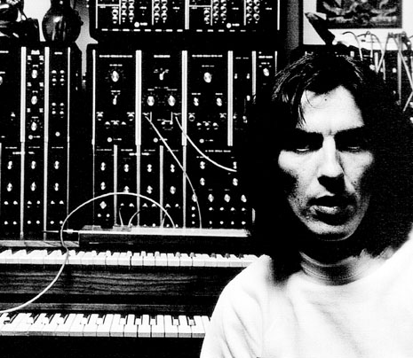 george harrison moog portrait