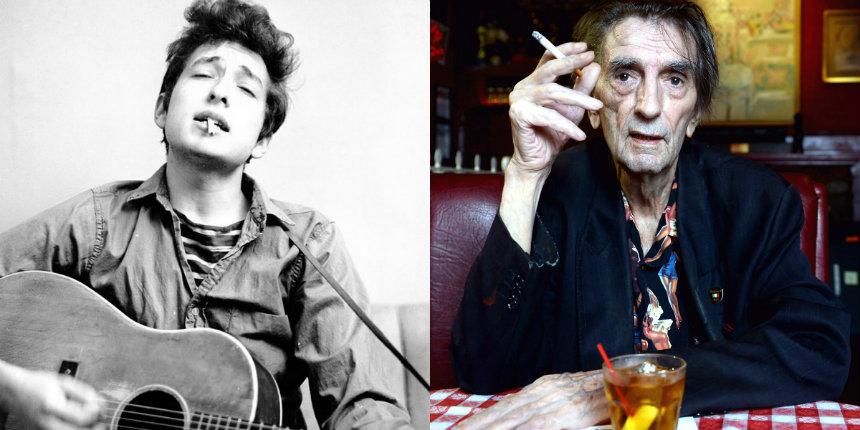 Bob Dylan plays 'Hava Nagila' with Harry Dean Stanton