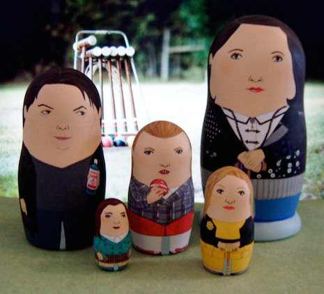 Heathers Russian nesting dolls